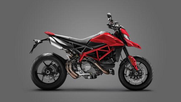 CocMotors – Ducati Hyprmotard red 2021