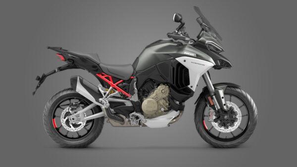CocMotors – Ducati Multistrada V4 S Aviator Grey Forged Wheels