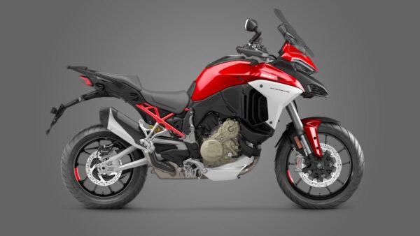 CocMotors – Ducati Multistrada V4 S Ducati red Forged Wheels