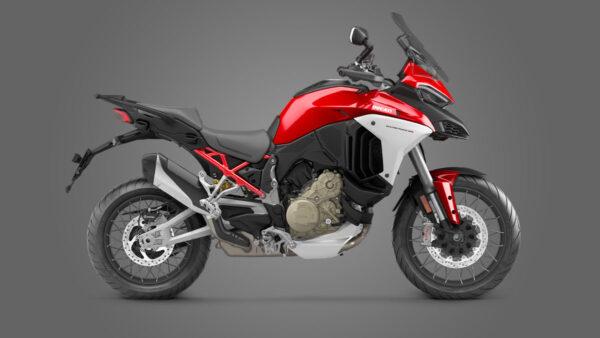 CocMotors – Ducati Multistrada V4 S Ducati red Spoked Wheels