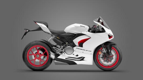 CocMotors – Ducati Panigale V2 White 2021