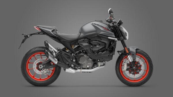 CocMotors – Ducati Monster Aviator Grey 2021